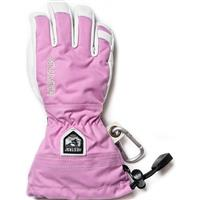 Pink Hestra Heli Ski Jr Gloves