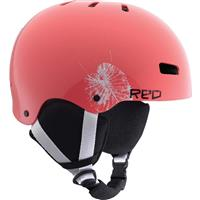 Pink RED Trace Grom Helmet Youth