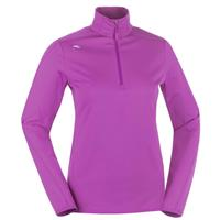 Pink Rose Kjus Element Half Zip Shirt Womens