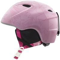 Pink Shooting Stars Giro Slingshot Helmet Youth