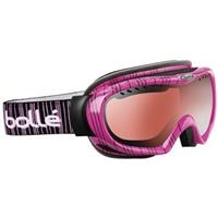 Pink Stripes Frame with Vermillion Gun Lens Bolle Simmer Goggle Womens