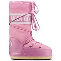 Pink Tecnica Classic Nylon Moon Boots