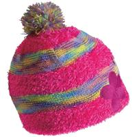 Pink Turtle Fur Petunia Hat Girls