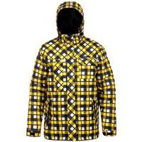 Plaid Yellow Orage Bolton Jacket Mens