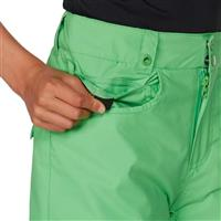 Poison Green Quiksilver State Pant Boys
