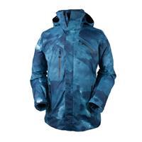 Squall Print Obermeyer Poseidon Jacket Mens