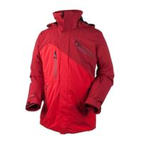 True Red Obermeyer Poseidon Jacket Mens
