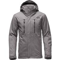 Zinc Grey The North Face Powdance Jacket Mens