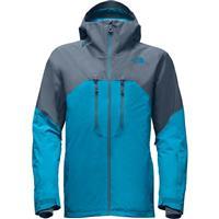 Brilliant Blue / Turbulance Grey The North Face Powder Guide Jacket Mens