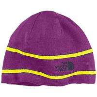 Premiere Purple The North Face Logo Beanie Youth
