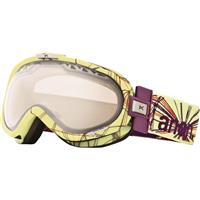 Printed Kaleidoscope Frame / Silver Mirror Lens Anon Solace Goggle Womens