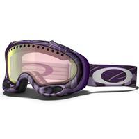 Purple Block Text Frame / VR50 Pink Iridium Lens (57 002) Oakley A Frame Goggle