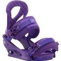 Purple Burton Stiletto Snowboard Bindings Womens