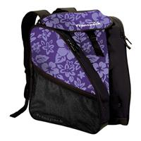 Purple Floral Transpack XTW Ski Boot Bag