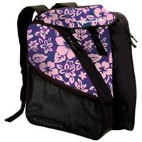 Purple Pink Floral Transpack XTW Ski Boot Bag