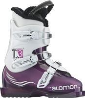 Purple Translucent / White Salomon T3 Girlie RT Boots Girls
