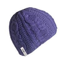 Purple Turtle Fur Courtney Hat Womens