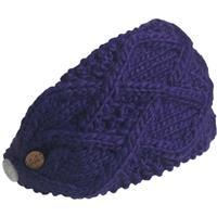 Purple Turtle Fur Feel My Flow Headband Womens