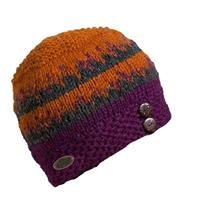Purple Turtle Fur Nepal Collection Dana Hat Womens