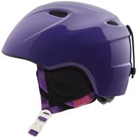 Purple Whirl Giro Slingshot Helmet Youth