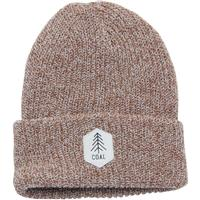 Coal The Scout Heather Knit Cuff Beanie - Light Brown