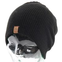 Black Quiksilver Wood Beanie Mens