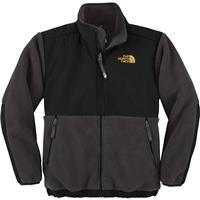 R Graphite Grey / Leopard Yellow The North Face Denali Jacket Boys