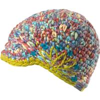 Rainbow Turtle Fur Tasia Hat Girls