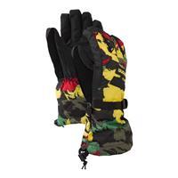 Rasta Cloud Camo Burton Boys Glove