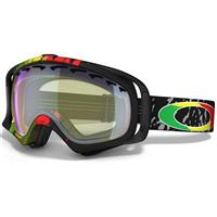 Rasta Mane Frame / H.I. Yellow Lens (57 609) Oakley Tanner Hall Signature Crowbar Goggle