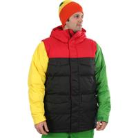 Rastablock Burton Deerfield Puffy Jacket Mens