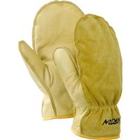 Raw Hide Burton Work Horse Leather Mitt Mens