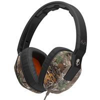 Real Tree / Dark Tan / Tan Skullcandy Crusher Headphones