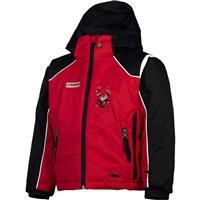 Red / Black / Red Spyder Mini Challenger Jacket Boys