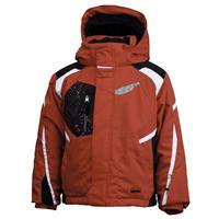 Red/Black/White Spyder Mini Leader Jacket Boys