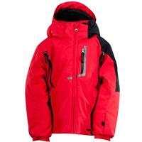 Red / Black / White Spyder Mini Leader Jacket Boys