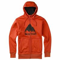 Red Clay Mountain Burton Bonded Full Zip Hoodie Mens