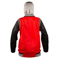 Red Neff MVP Jacket Mens back