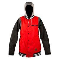 Red Neff MVP Jacket Mens front
