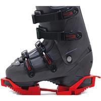 Red Ski Skootys Slip on Ski Boot Rocker Sole
