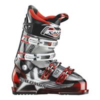 Red Translucent / Crystal Translucent Salomon Impact 10 CS Ski Boot Mens