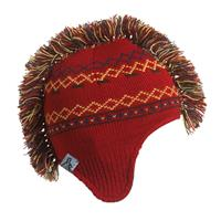 Turtle Fur Hawk Beanie - Boy's - Red