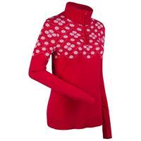 Red/White Nils Kajsa Sweater Womens
