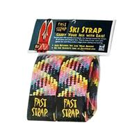 Bright Multi Fast Strap Regular Ski Strap