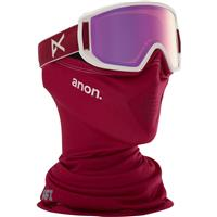 Berry Frame with Pink Amber Lens (185371 630) Anon Relapse Jr MFI Goggle