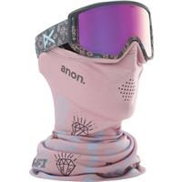 Bling Frame withPink Amber Lens (185371 041) Anon Relapse Jr MFI Goggle