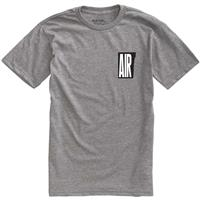 Gray Heather Burton Retro Air Short Sleeve Tee Mens