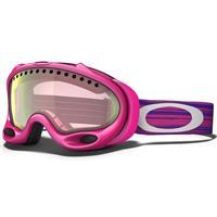 Rich Pink Frame / VR50 Pink Iridium Lens (57 388) Oakley A Frame Goggle