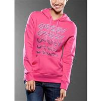 Rich Pink Oakley Split Factory Hoody Womens