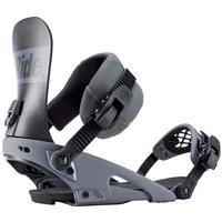Grey Ride Rodeo Snowboard Binding Mens